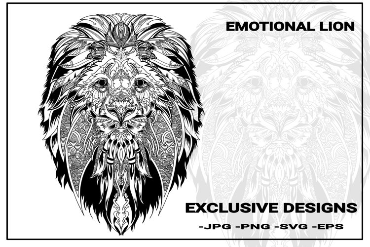 lion tattoo designs example image 1