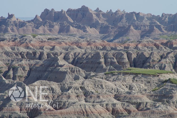 Badlands National Park South Dakota Canyons Red Rock example image 1