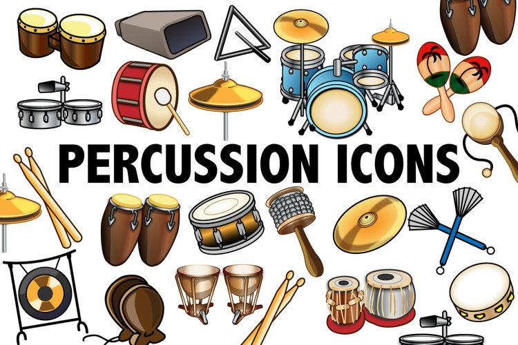 Percussion Clipart example image 1