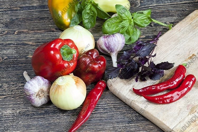 vegetarian products during cooking example image 1