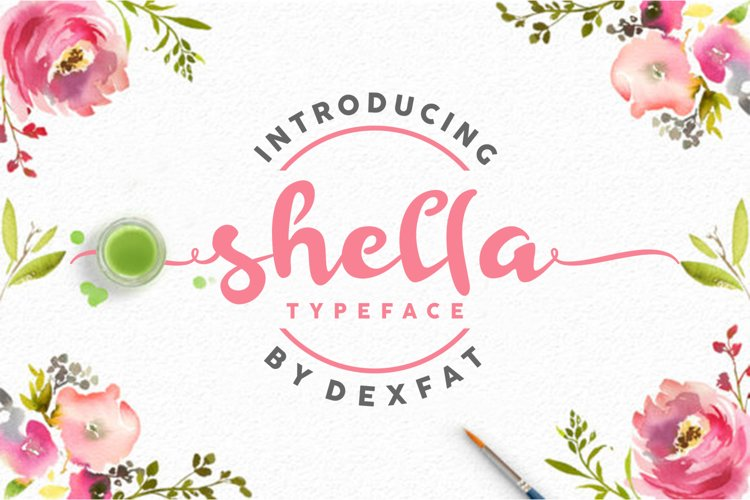 Shella Script example image 1