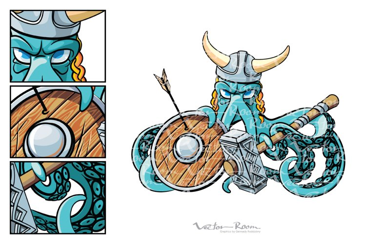 Octopus the Viking example image 1