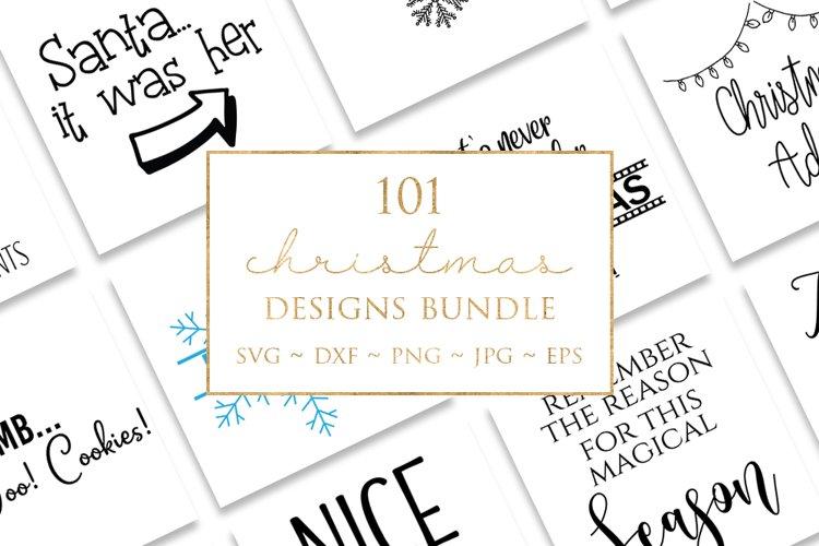 101 Christmas Design Bundle