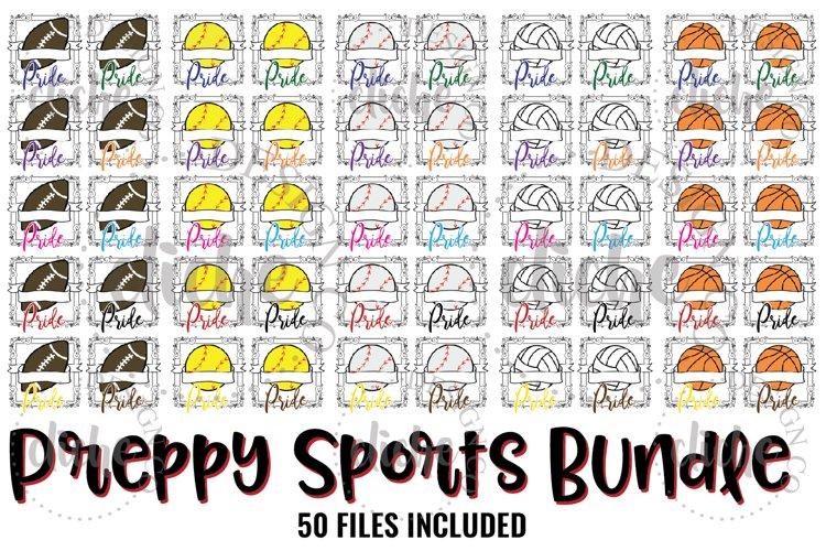 Preppy Sports Sublimation Design Bundle