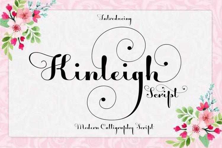 Kinleigh Script example image 1