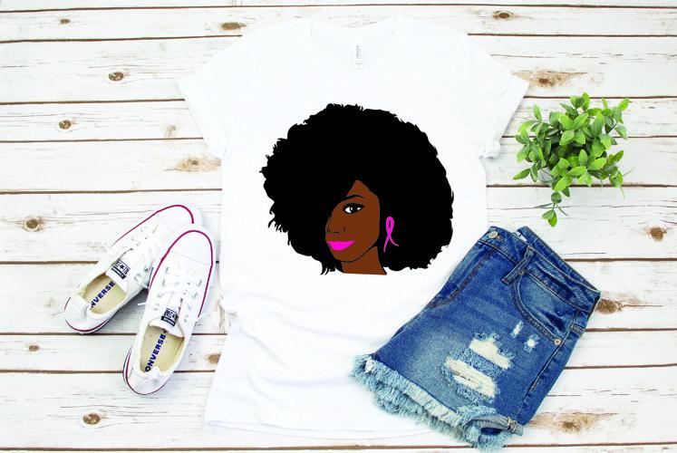 Cancer sucks, pink, Woman black, woman, girl black, 10P example image 1
