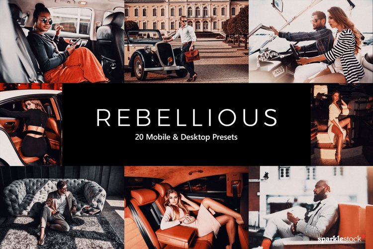20 Rebellious Lightroom Presets & LUTs example image 1