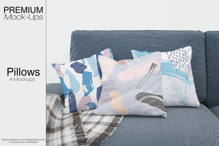 Pillow Mockups example image 1