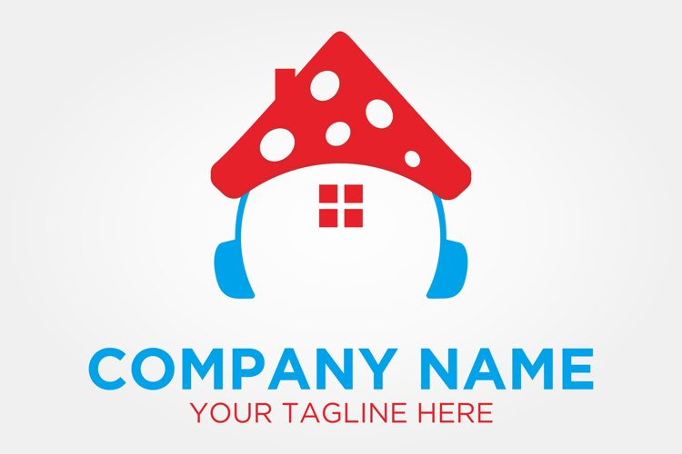 Mushroom Music Logo example image 1