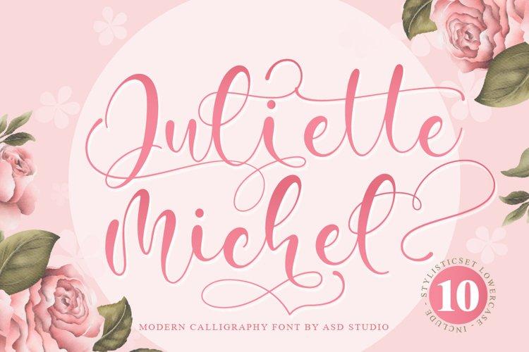 Juliette Michel - Modern Calligraphy example image 1