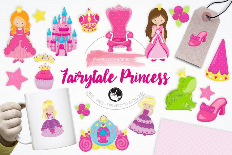 Fairytale Princess  graphics and illustrations - Free Design of The Week Font