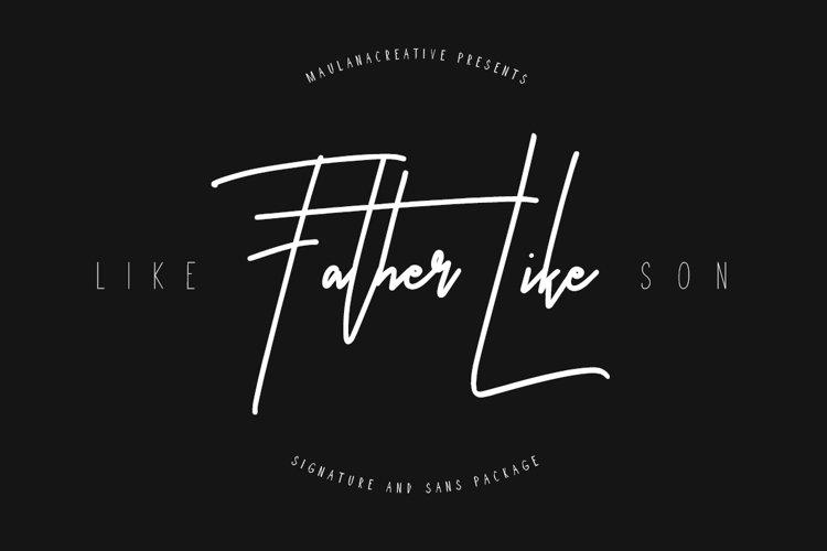 Like Father Like Son example image 1
