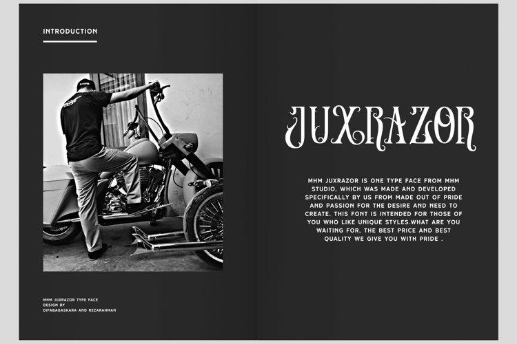 MHM Juxrazor example image 1