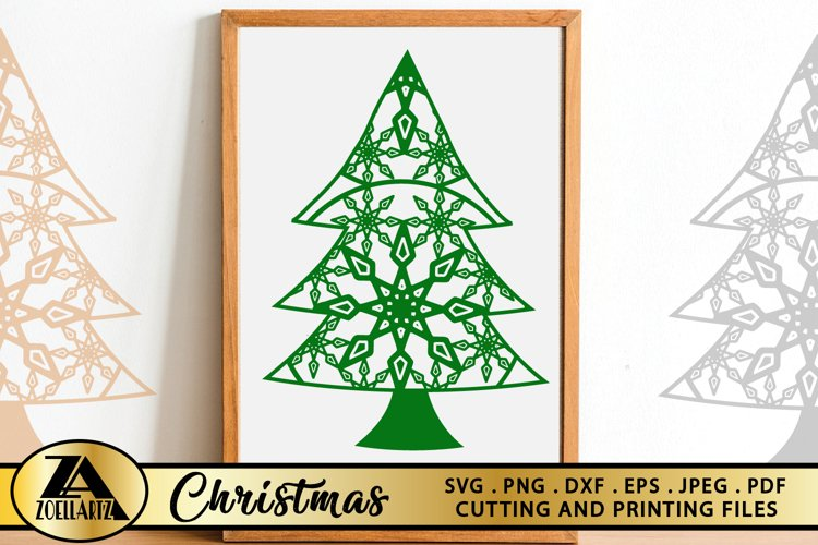 Christmas SVG PNG EPS DXF Files For Cutting and Printing example image 1