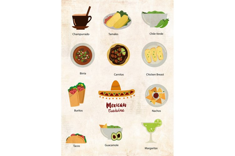 Mexican Food Clipart - Free Design of The Week Design3