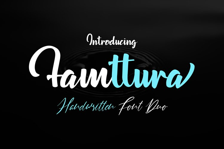 Famttura Font Duo example image 1