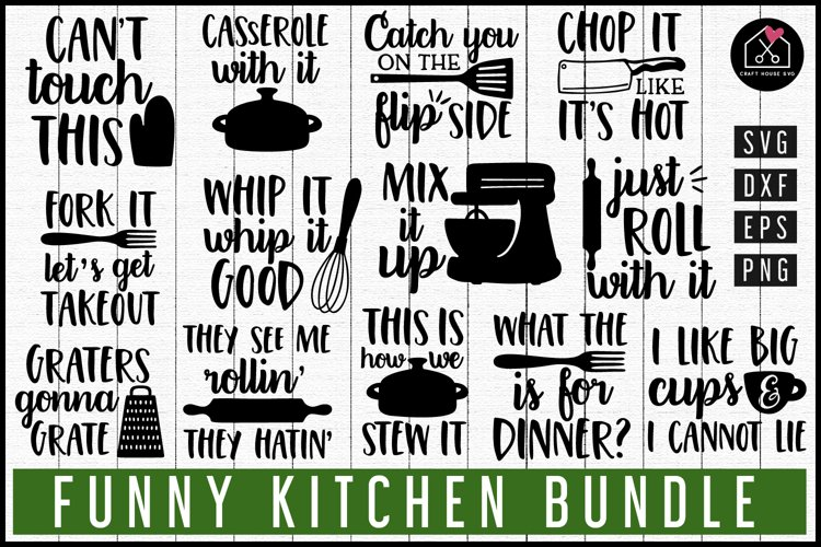 Kitchen SVG Bundle| Funny kitchen puns svg MB105