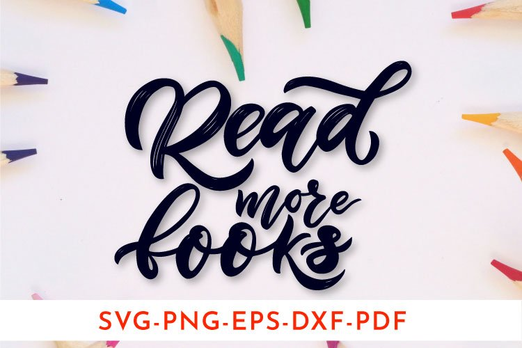 Motivational quote. Back to school concept. SVG, PNG example image 1