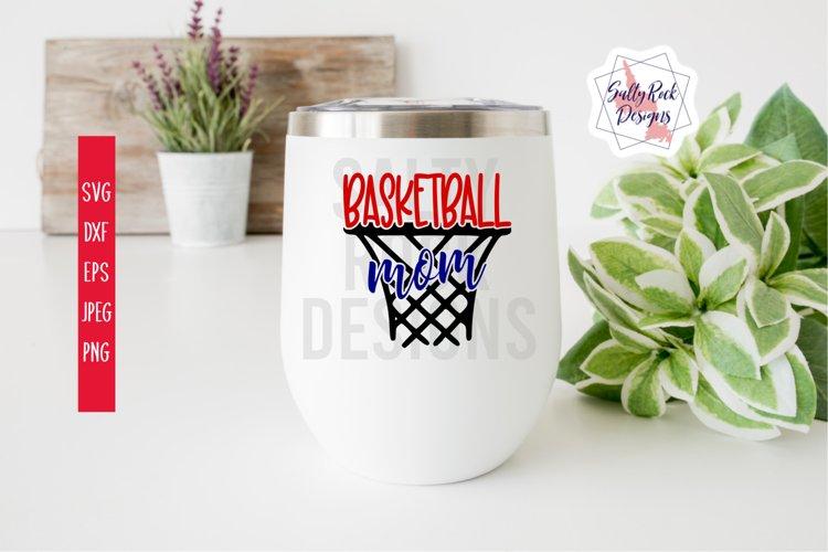 Basketball Mom SVG, Basketball SVG, Basketball Mom Cut File