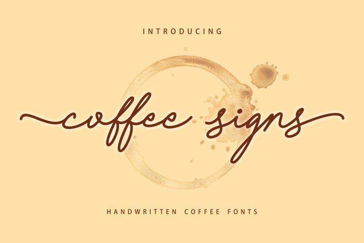 Coffee Signs example image 1
