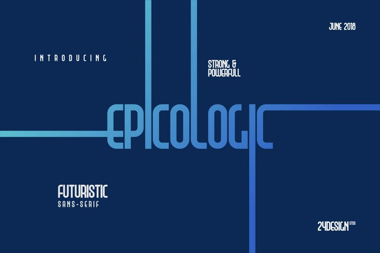 Epicologic Fonts 4 Style