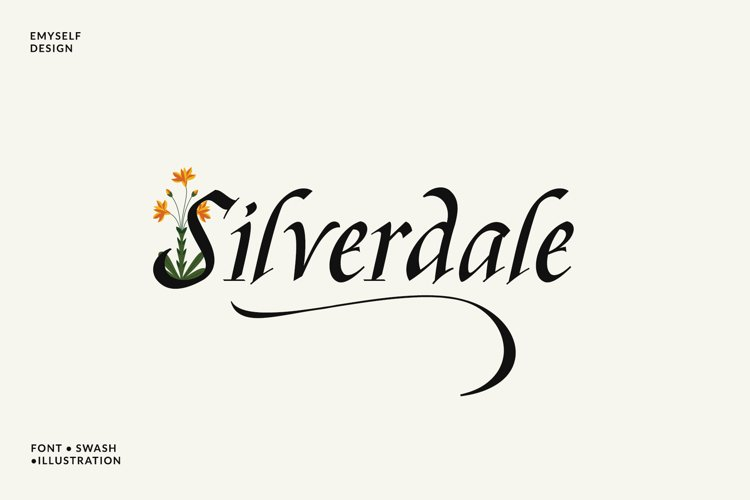 Silverdale Typeface example image 1