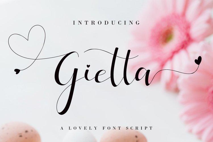 Gietta example image 1