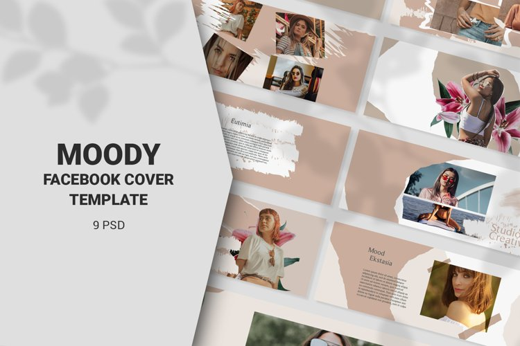 Moody Facebook Cover Templates example image 1