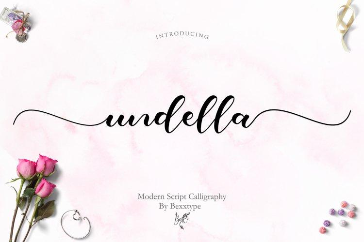 Undella Script