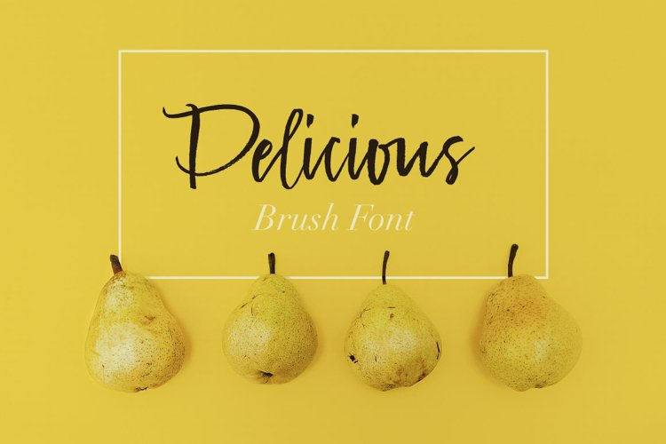 Delicious Brush Font