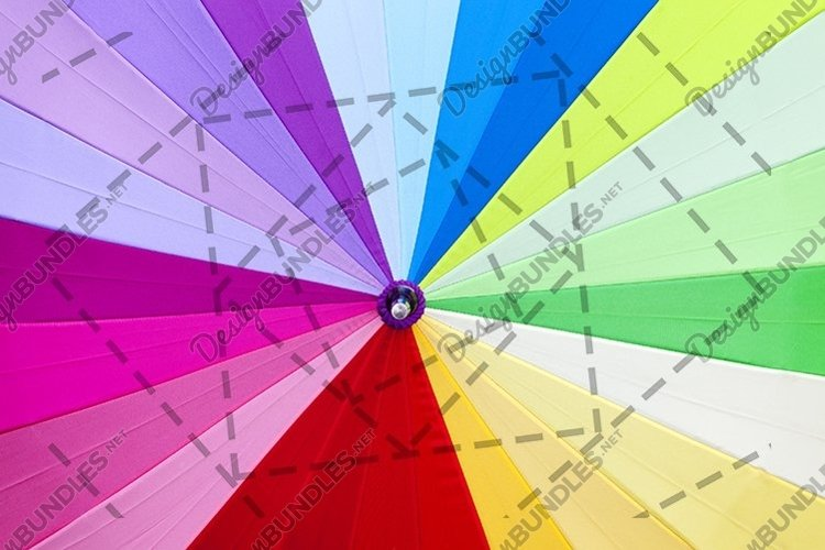 dry colored umbrella example image 1