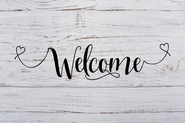 Welcome Svg Dxf Png Jpg Eps vector file Cut Files