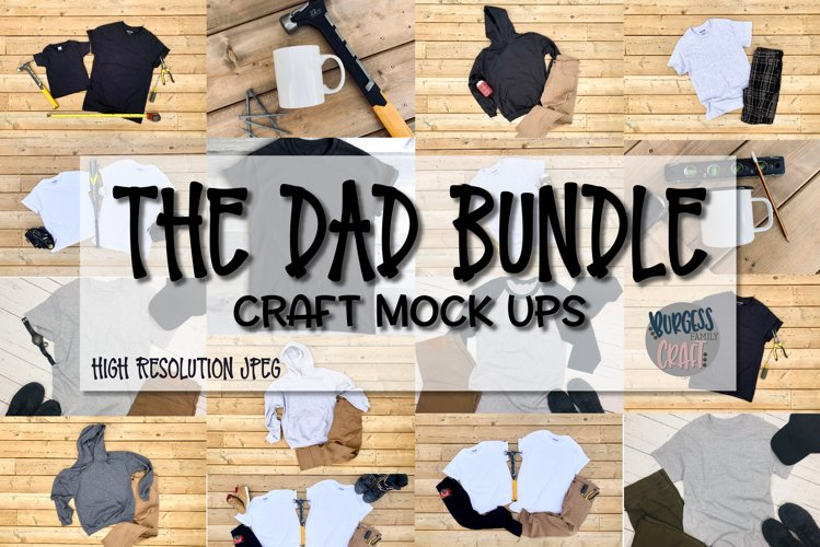 The Dad Bundle |Craft mock ups