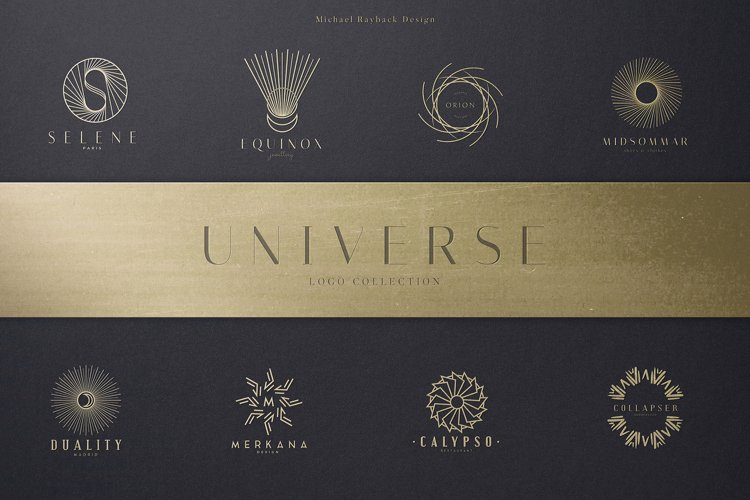 Universe Logo Collection example image 1