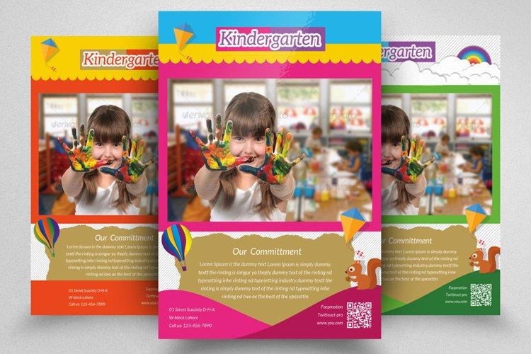 Kindergarten Junior School Flyer example image 1