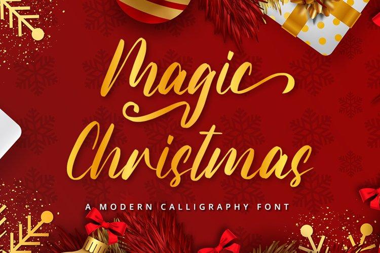 Magic Christmas example image 1