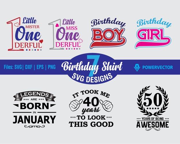 Birthday Svg Bundle. Birthday T shirt designs Svg Sale