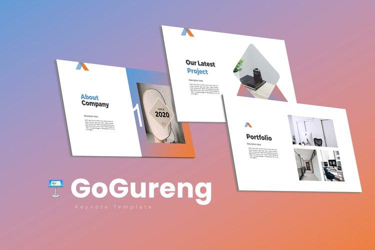 GoGureng Keynote Templates example image 1