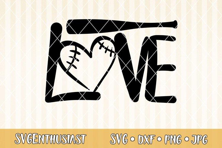Download Love Baseball Svg Cut File 298378 Svgs Design Bundles