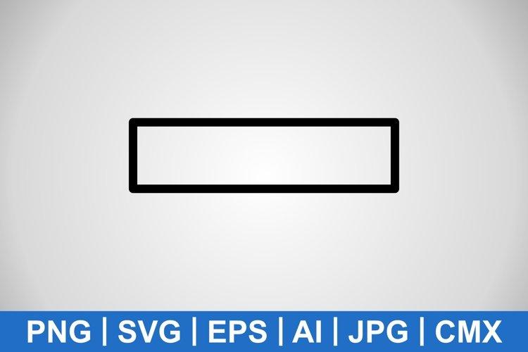 Vector Minus Icon example image 1