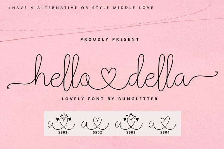 hello della - script lovely example image 1