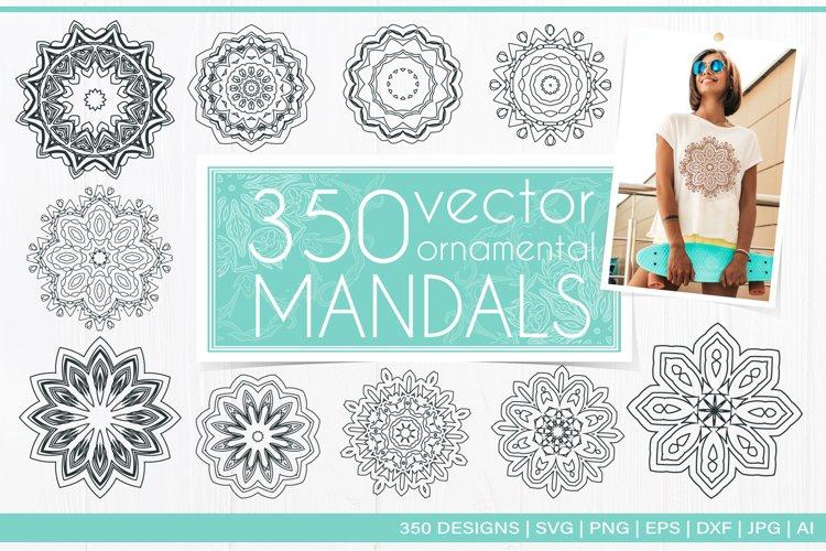 Mandala bundle SVG, Mandala Flower example image 1