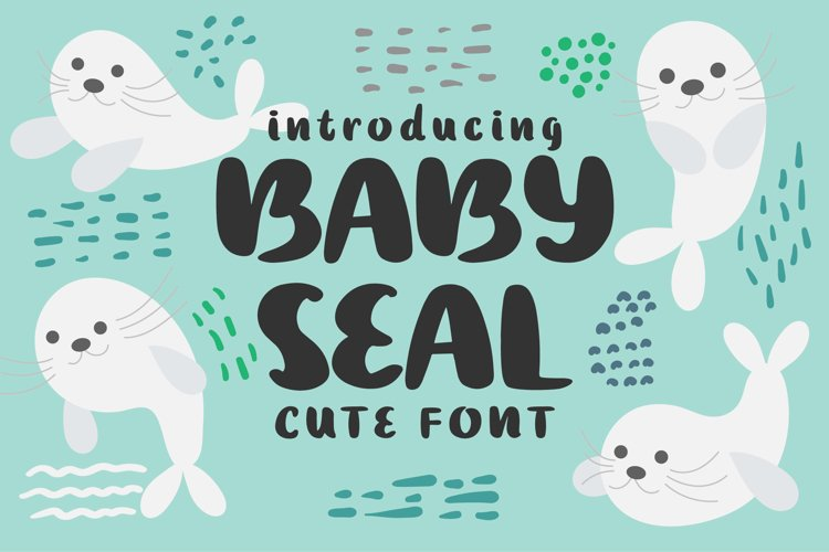 Baby Seal Font example image 1