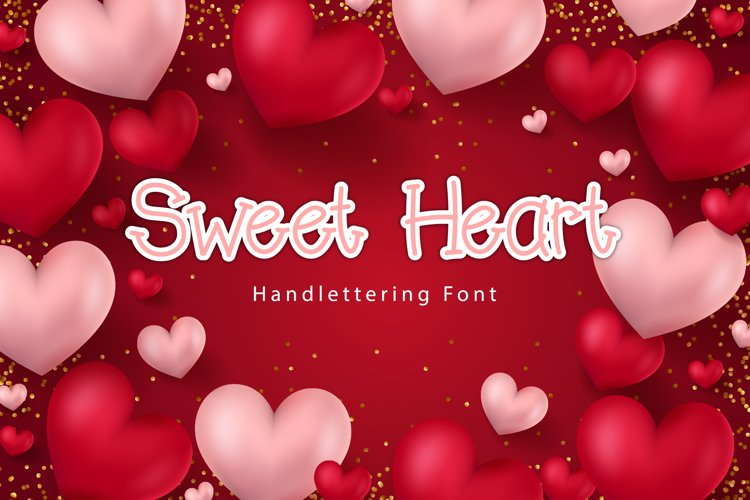 Sweet Heart Font example image 1