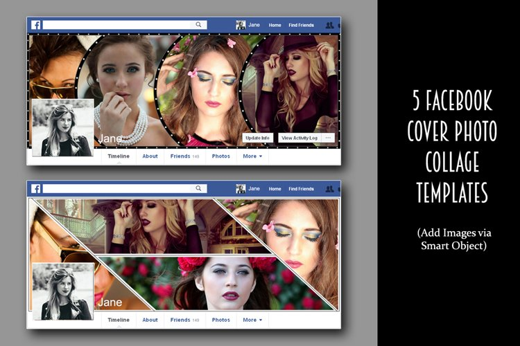 5 Facebook cover photo collage example image 1