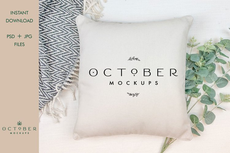 Pillow mockup | background clipart | cushion mockup | PSD