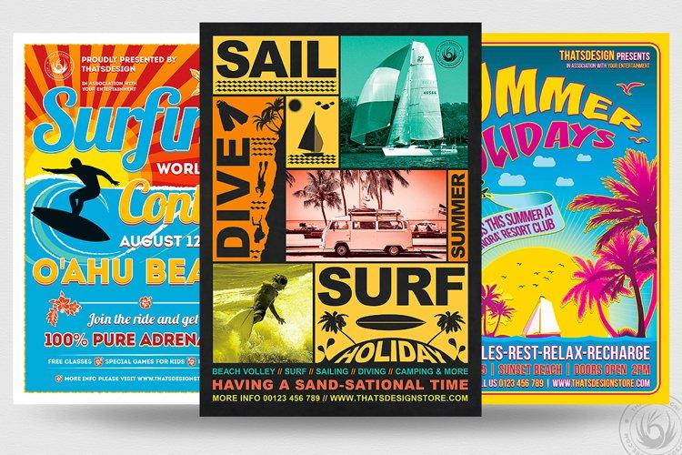 Summertime Flyer Bundle V1 example image 1