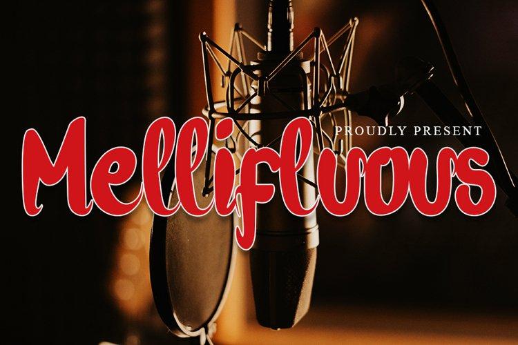 Mellifluous - A Modern Handwritten Font example image 1