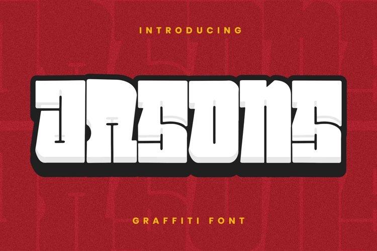 JASONS Font example image 1