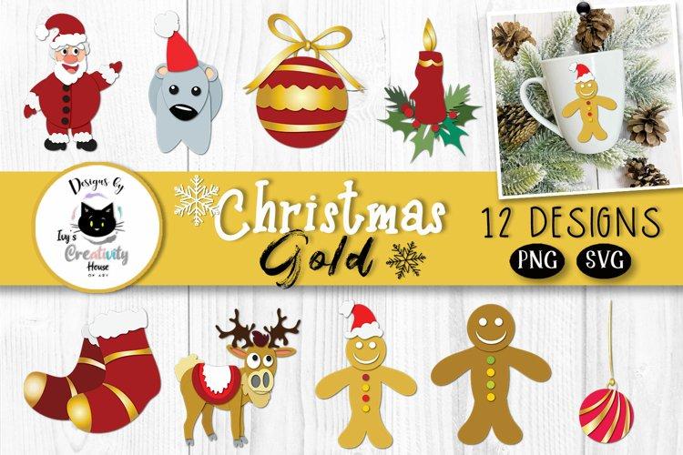 Cute Christmas SVG Bundle  Merry Christmas Clipart